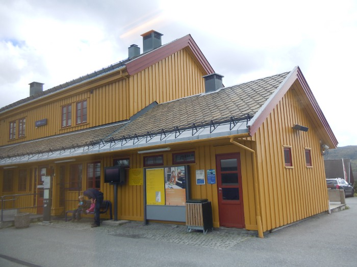 Station on the way to Myrdal