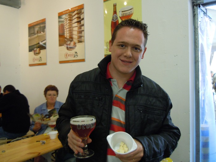 Me at Brasserie D'Orval