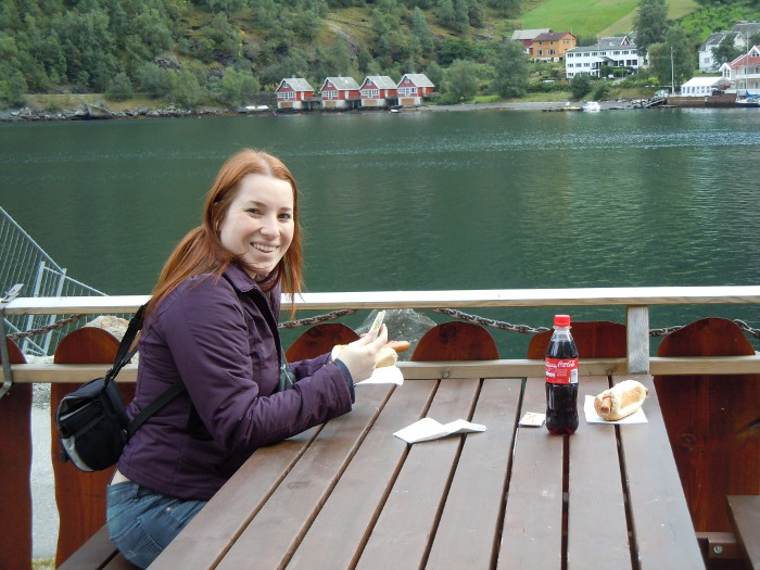 Hot-dog in Flam