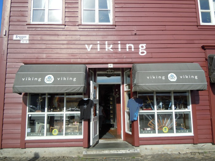 Viking store in Bergen
