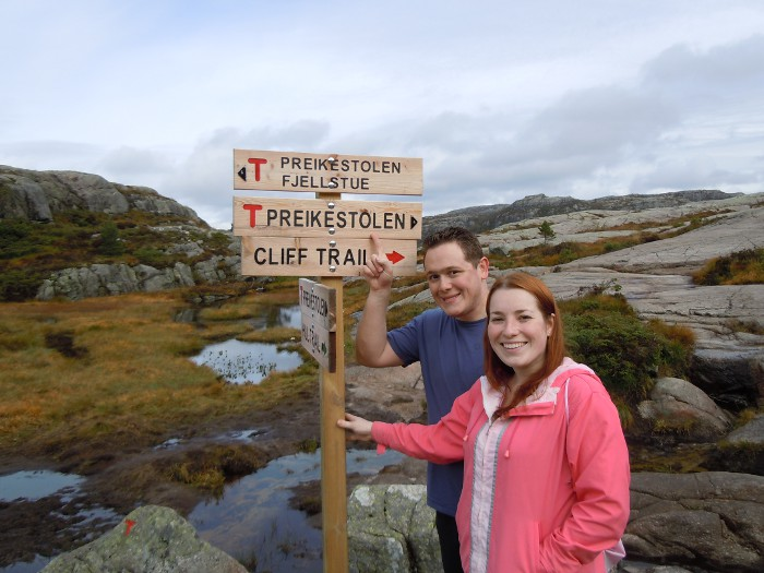 Hiking to the top of Preikestolen in Stavanger - Norway