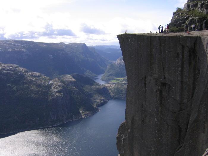 Preikestolen in Stavanger, Norway