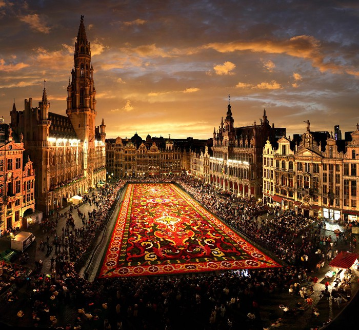 Grand-Place in Brussels, Belgium