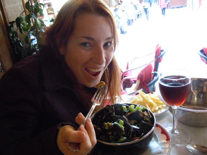 Moules Frites in Brussels, Belgium