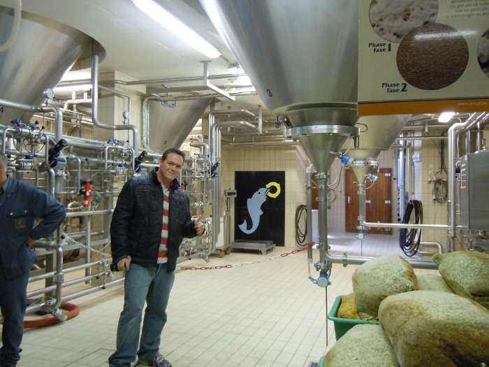 Inside Orval Brewery