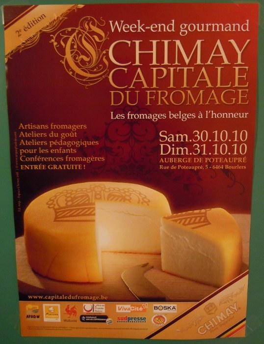 Inside Auberge de Poteaupre in Chimay - Belgium